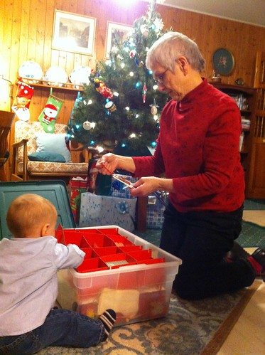 Helping GMA Christine Find the Perfect Ornament