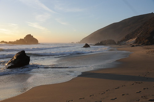 Sunset @ Pfeiffer Beach
