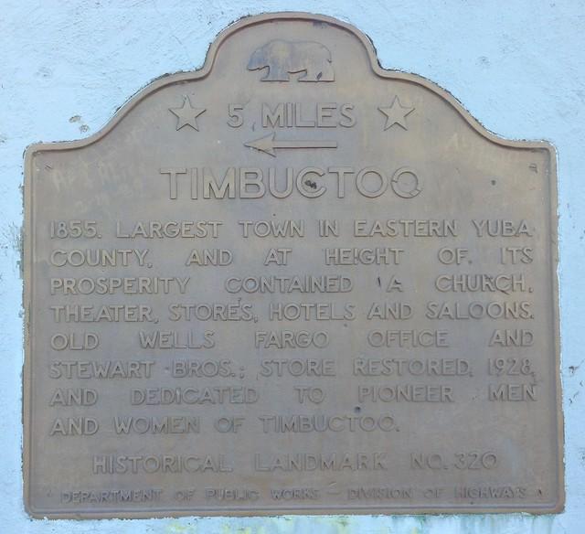 California Historial Landmark #320