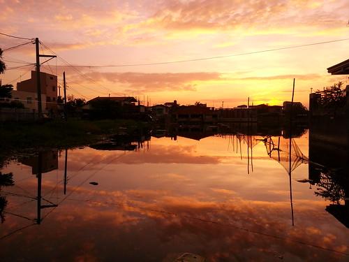 sunset cloudy bulacan obando flickrandroidapp:filter=none