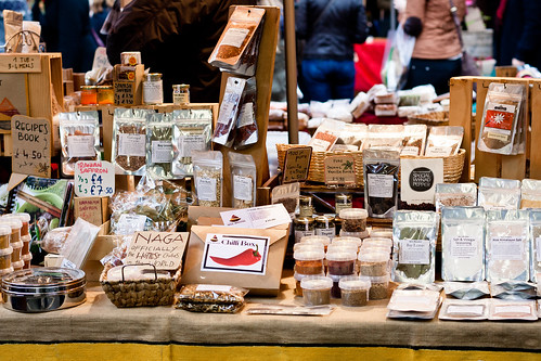Spices at Borough Market