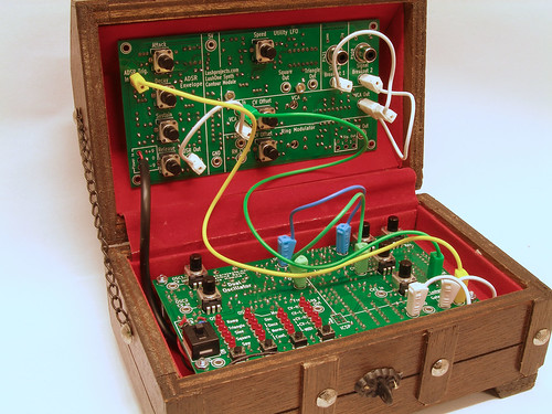 Treasure Chest Synth - 3/4 View