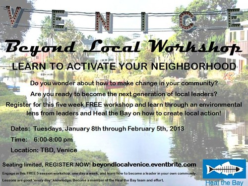 Heal the Bay: Venice 'Beyond Local' Workshop