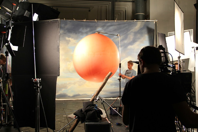 Behind the scenes shooting the Spring Season trailer © ROH / Ruairi Watson 2012