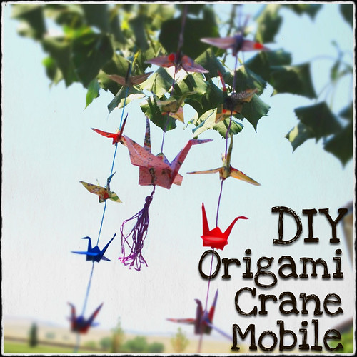 Making a tasseled origami crane mobile art tutorial for Crane tutorial