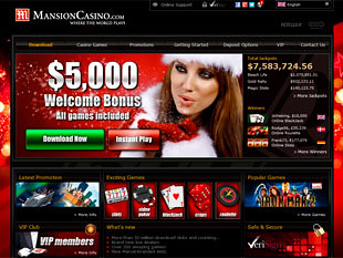 Mansion Casino Home