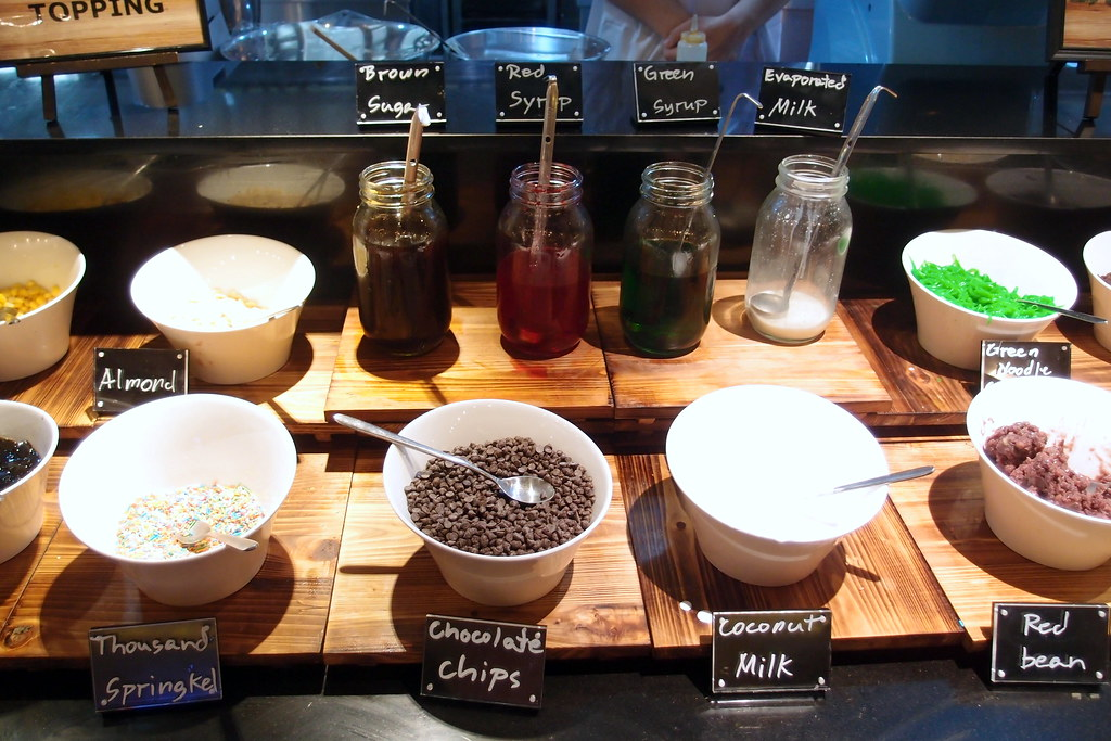 1 Market's DIY Ice Kachang Station