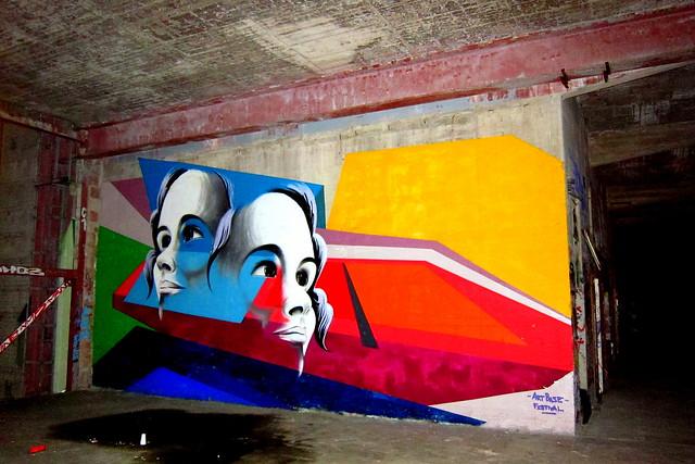 graffiti   teufelsberg . berlin 2012