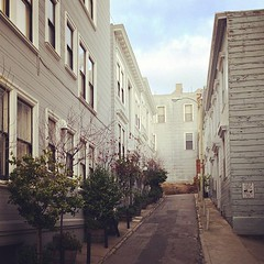San Francisco's alleys
