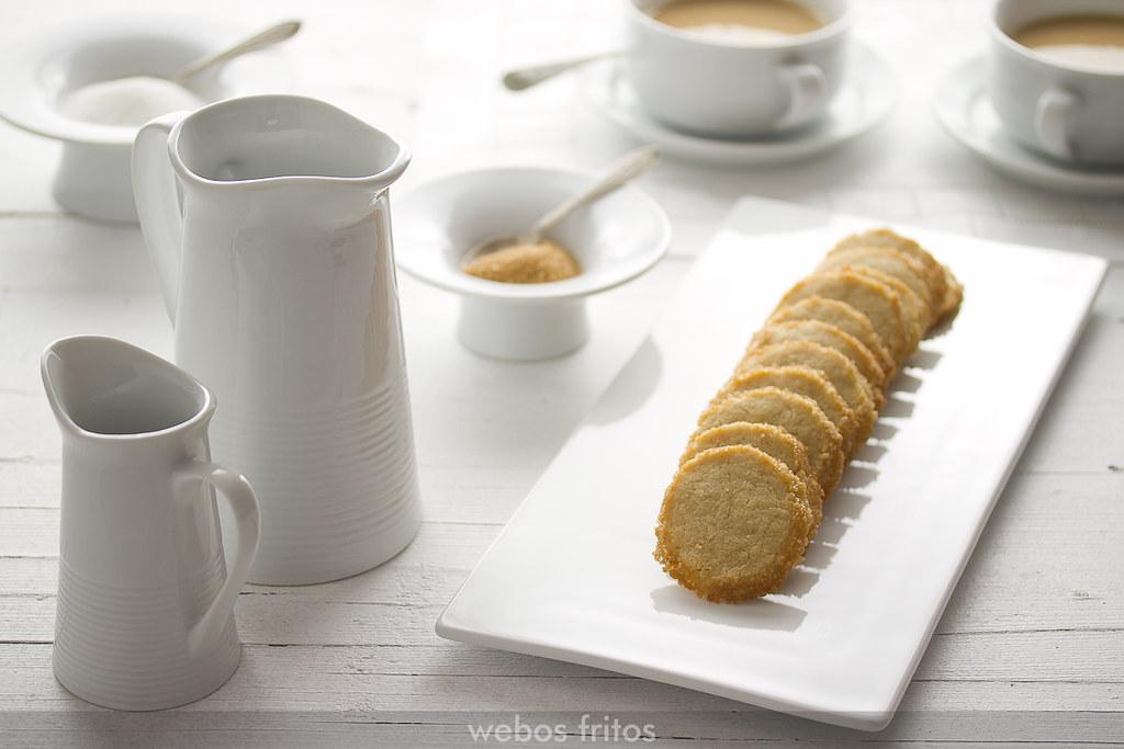 Galletas crujientes de mantequilla