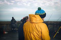 France, Nord (59), Dunkerque, Feu de St-Pol : la partie de pêche, 3 janvier 2013
