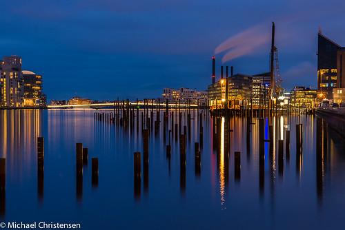 Copenhagen Harbor - Blue hour by Michael Christensen