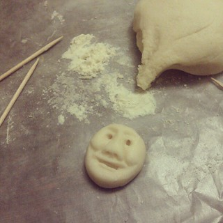 Woo, salt dough.