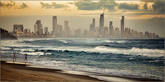 Surfer's Paradise from Burleigh Heads