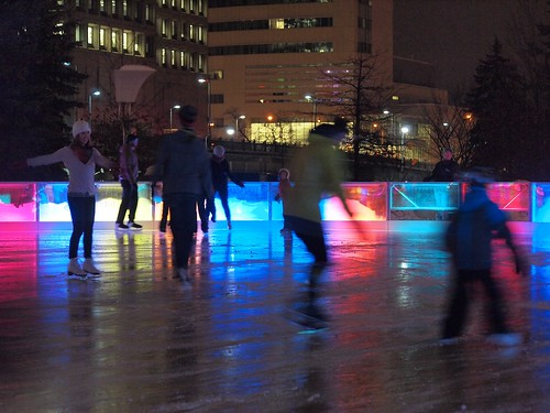 City Hall skaters