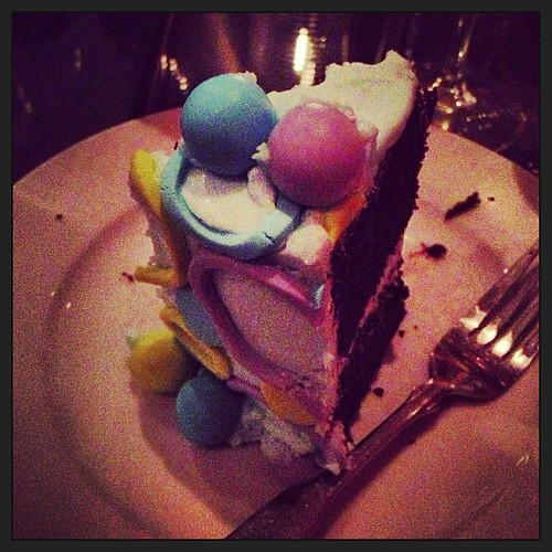 When other guests at Garibaldi's share their birthday cake, it restores my faith in the human race.