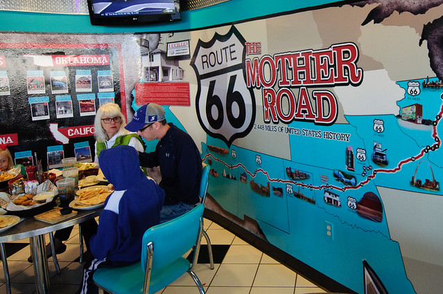 The mother road of all - Route 66