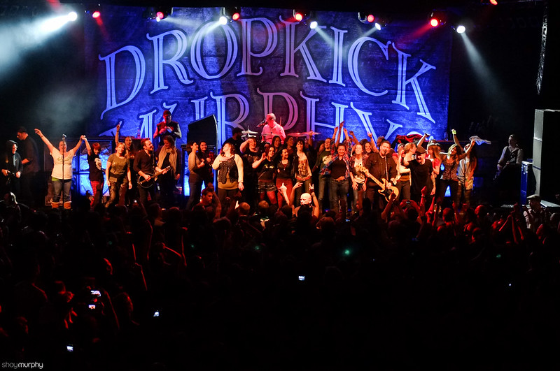 Dropkick Murphys - All the ladies!