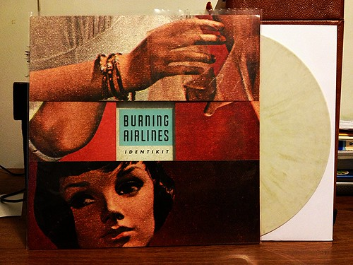 Burning Airlines - Identikit LP - White w/ Gold Vinyl (/250) by Tim PopKid