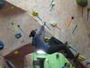 me climbing a V2 by kabrah1000
