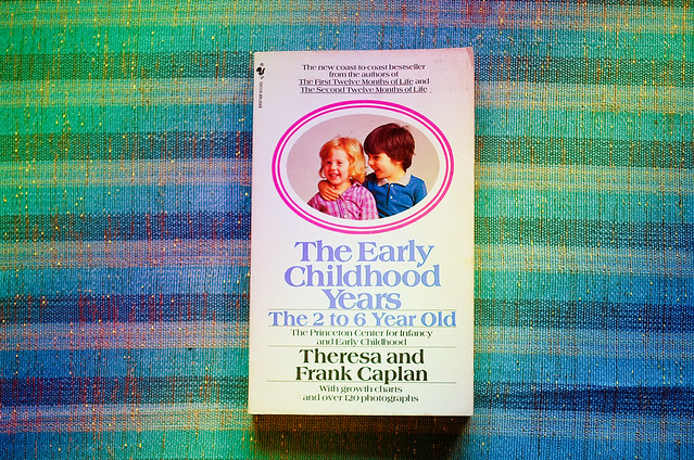 The Early Childhood Years book by Theresa  and Frank Caplan 29php