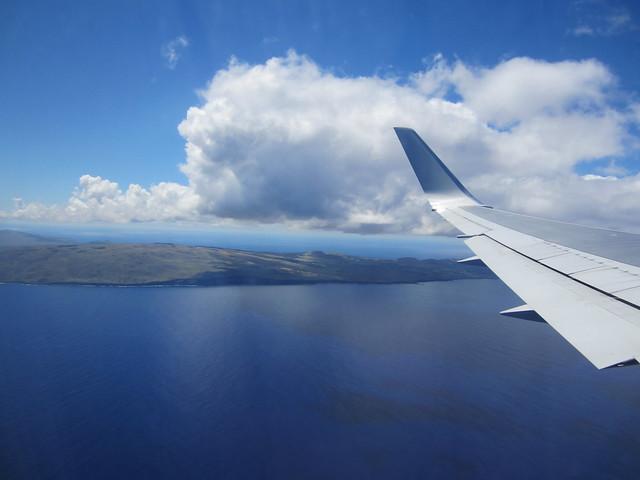 Landing on Easter Island/Isla de Pascua/Rapa Nui