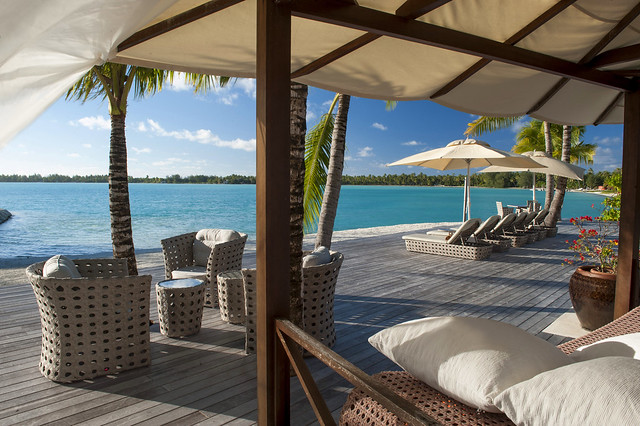 The St. Regis Bora Bora Resort—Royal Estate - Terrace