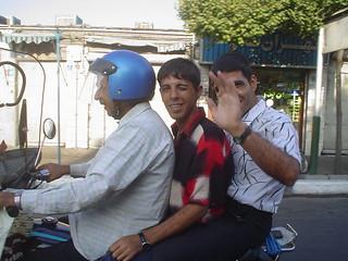 Táxis-Moto em Teerão, Irão