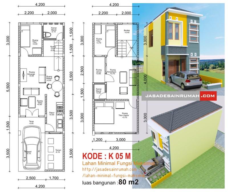 Lahan Minimal Fungsi Maksimal Jasa Desain Rumah
