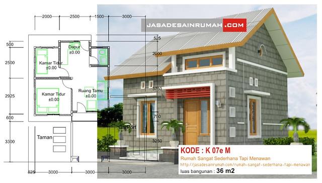 Rumah Sangat Sederhana Tapi Menawan Jasa Desain Rumah