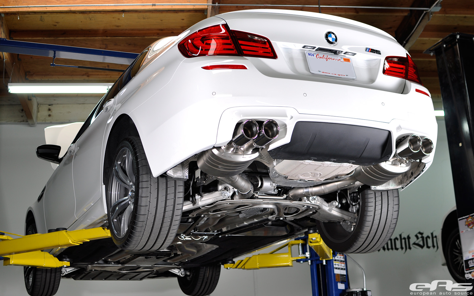 Akrapovic M5 Exhaust Installed by eas