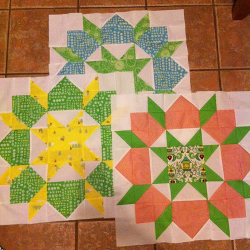 My final 3 Swoon blocks.