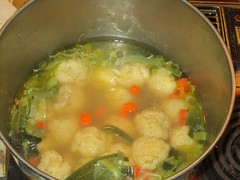matzoh ball soup by Teckelcar