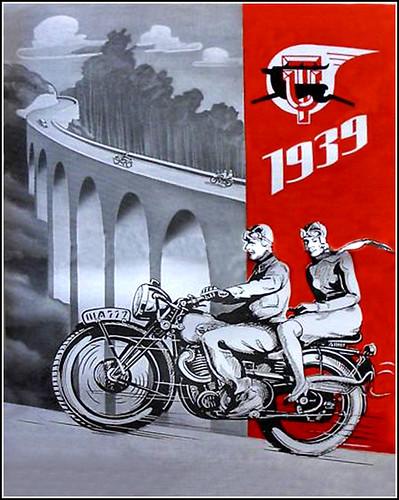 1939 UT Motorcycles by bullittmcqueen