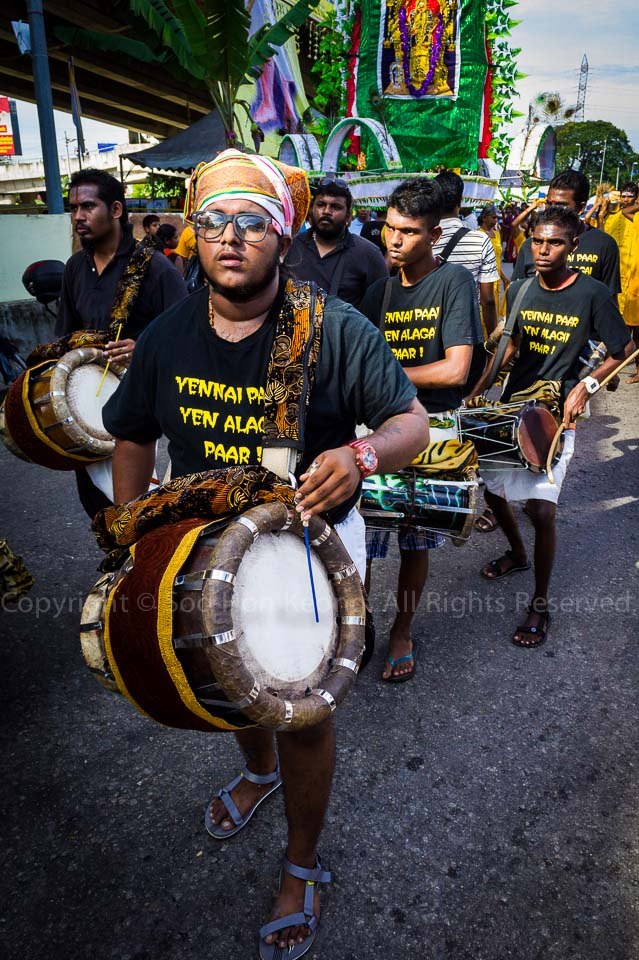 Drumming it Up @ Pre Thaipusam, Batu Caves, Malaysia