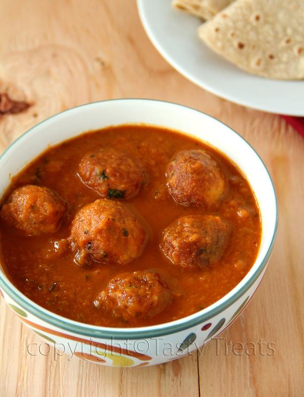 Tasty treats vegetable kofta curry vegetable kofta curry forumfinder Gallery