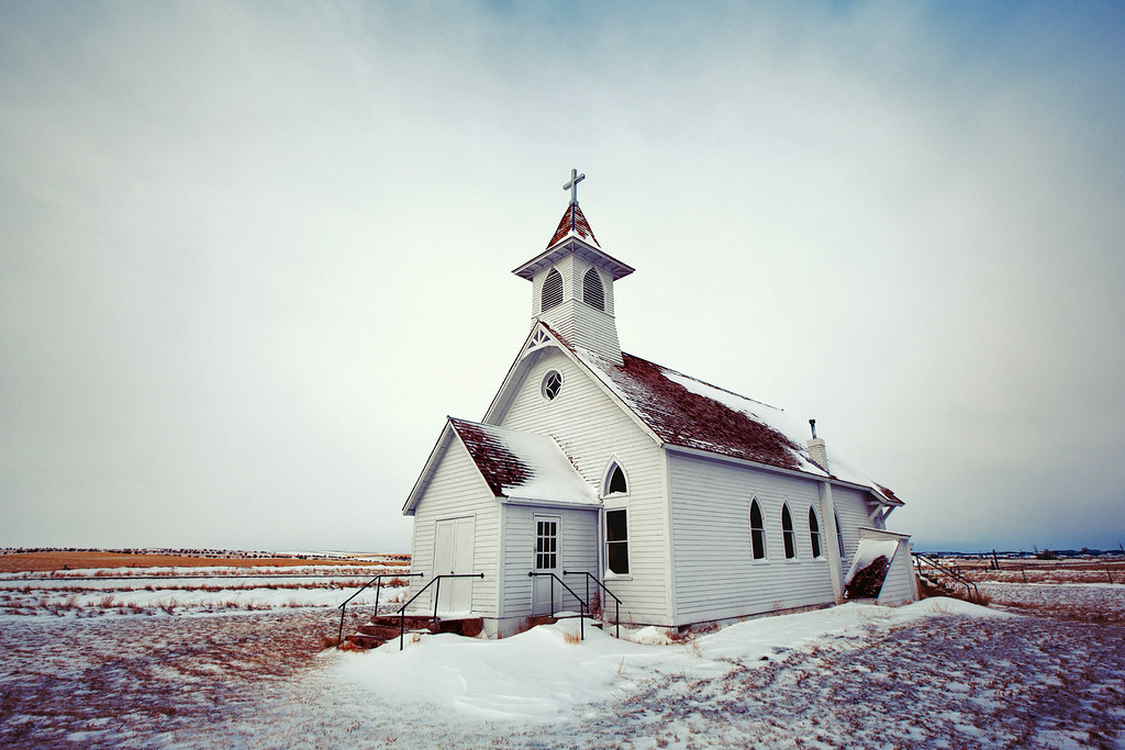 Christmas Old Travel Winter White Snow Cold West Building Cute History Tourism Church Beautiful Horizontal Architecture