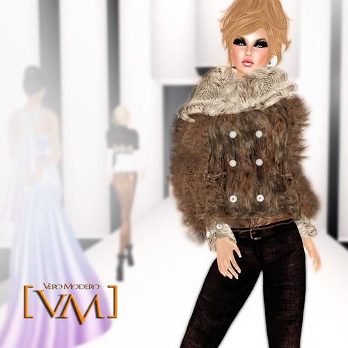 [VM] VERO MODERO _ Kar Fur coat