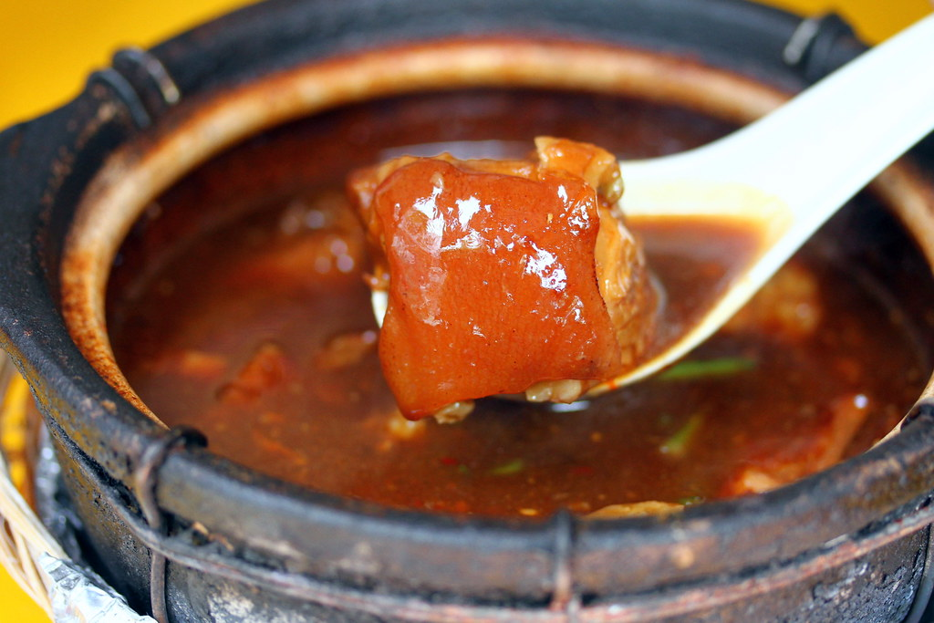 Leong Kee (Klang) Bak Kut Teh: Stewed Pork Leg