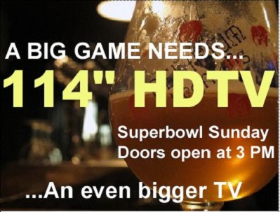 Watch 2013 Super Bowl in Southeast Portland @ Bazi Bierbrasserie