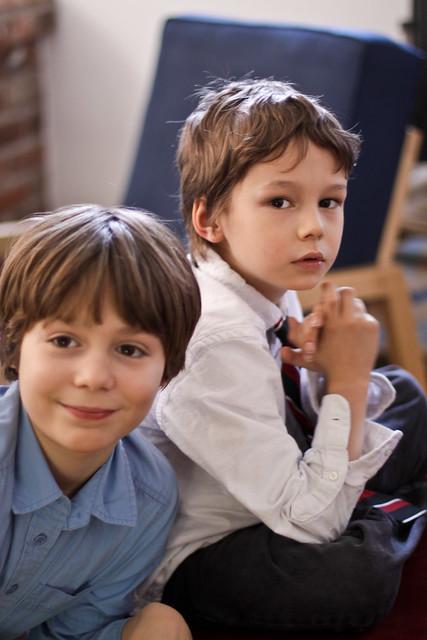 Étienne et Axel