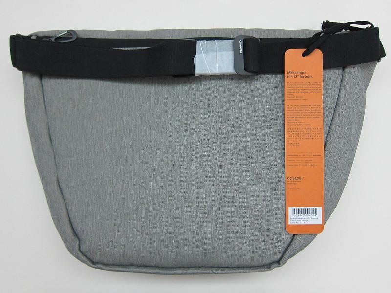 Côte&Ciel - Spree Messenger Bag (Grey Melange) - Back