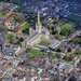 Norwich Cathedral aerial image by John D F