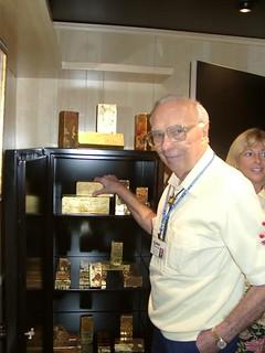 JOhn J. Ford Jr. at 2000 ANA SS Central American exhibit