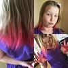 Mara rocking some more homemade hair dye.