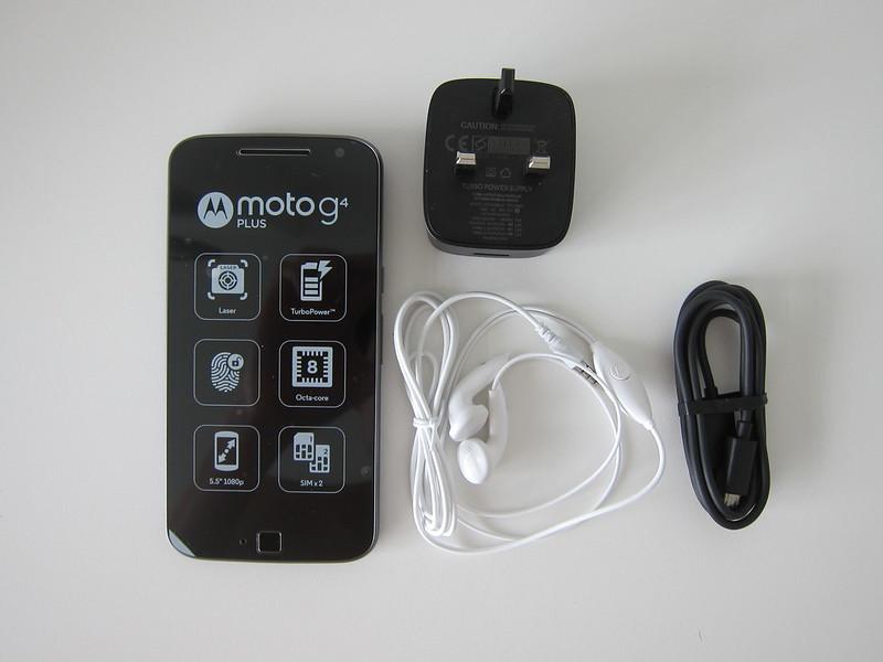 Moto G4 Plus - Box Contents