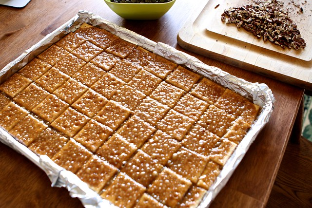 Saltine Toffee 006