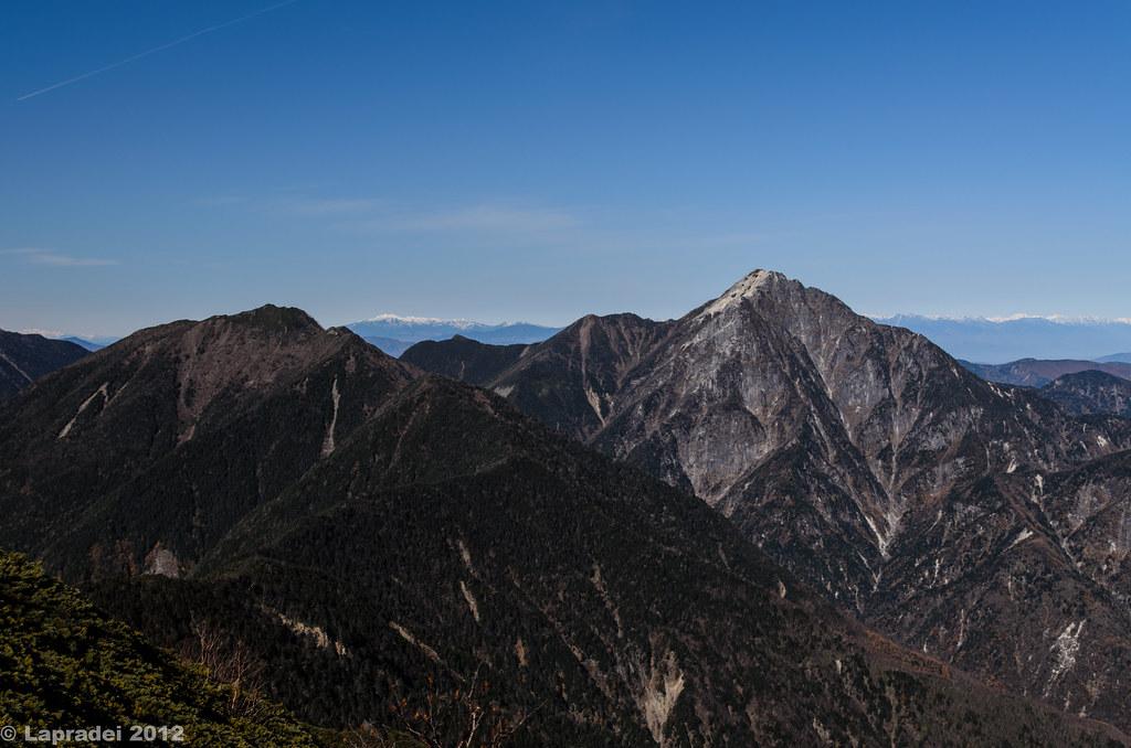20121104 アサヨ峰と甲斐駒ヶ岳