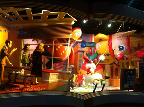 Macy's holiday window 2012