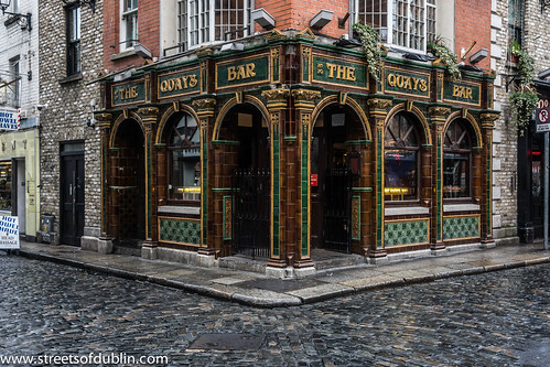 The Quays Pub In Temple Bar In Dublin On A Wet Friday